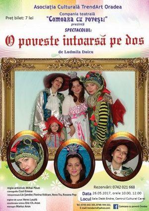 Spectacol pentru copii la Carei