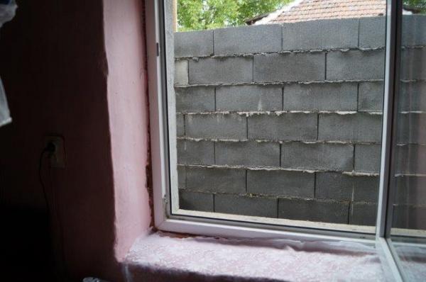 Lovitură de Teatru. Familia căreia i-a crescut un gard de 2,32 m în faţa geamului a fost atenţionată de primărie să îşi blocheze geamul. Document