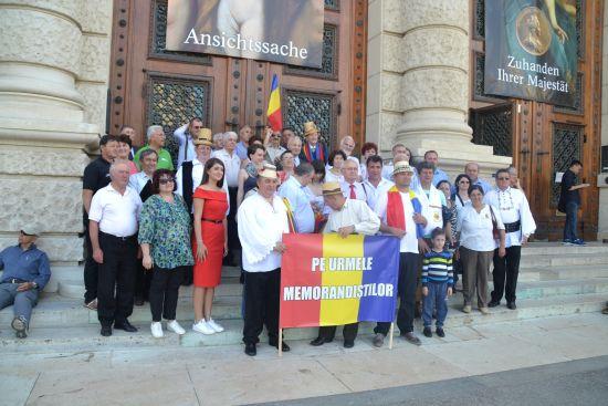 Delegaţie românească la  Viena pentru marcarea celor 125 de ani de la Memorand