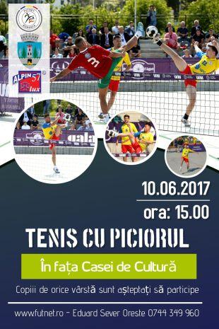 Turneu de promovare a futnetului la Satu Mare.  Participă echipa națională de futnet a României