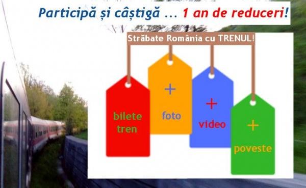 Străbate România cu Trenul – o campanie CFR Călători
