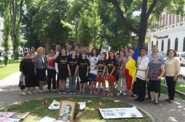 ASTRA Carei şi Voluntarii Invictus l-au comemorat pe Mihai Eminescu