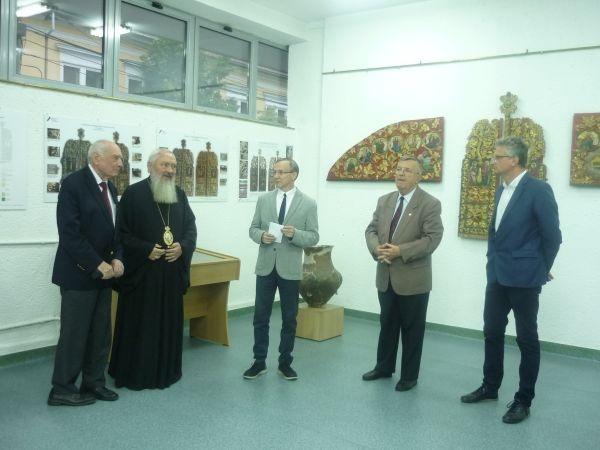 Expoziţie de icoane restaurate din patrimoniul Muzeului Mitropoliei Clujului