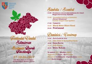 Festivalul Vinului Sătmărean. Proconsul şi Ducu Bertzi printre invitaţi