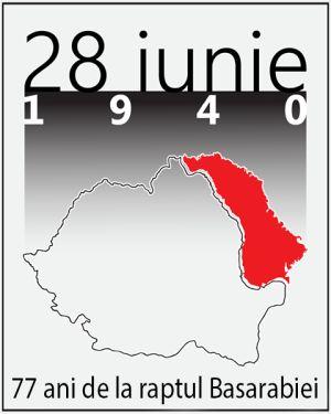 Români nu vă uitaţi istoria! 28 iunie 1940- 28 iunie 2017. 77 de ani de la raptul Basarabiei