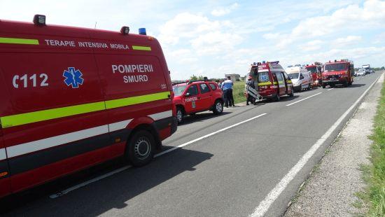 Accident rutier cu patru morţi la Livada