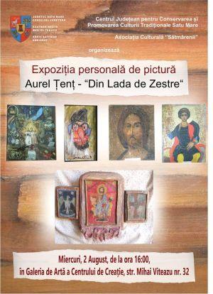 """""""Din Lada de Zestre""""-  expoziţie Aurel Țenț"""