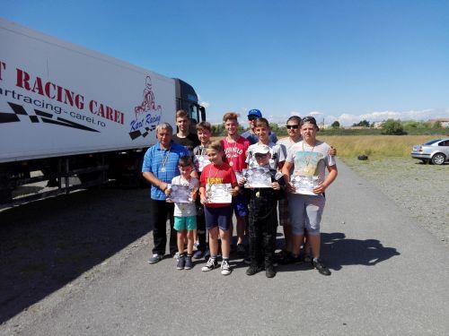 Karting. Careieni la Campionatul Naţional Şcolar de la Braşov