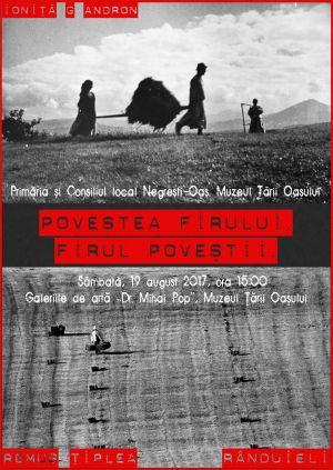 Expoziție de fotografie etnografică la Negreşti-Oaş. Prezentare de modă