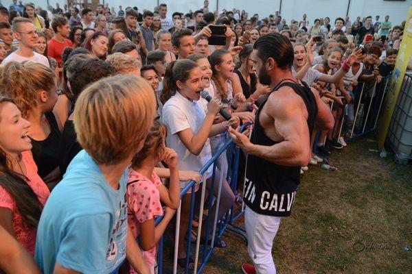 Dorian Popa şi Nicoleta Nucă au electrizat publicul în cea de-a cincea seară a Festivalului AugustFest la Carei