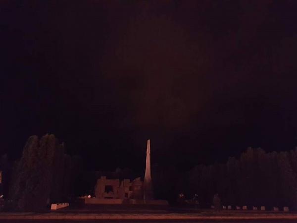 Monumentul Ostaşului Român din Carei nu este iluminat