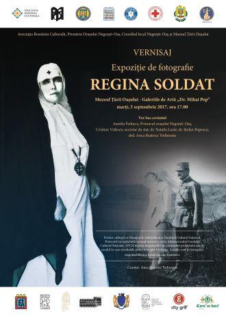 """Expoziție de fotografie """"Regina soldat"""""""