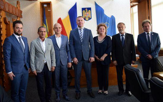 Ambasadorul  Ucrainei, în vizită la Satu Mare