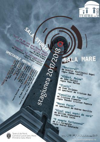 Programul secției române a Teatrului de Nord în Stagiunea 2017 – 2018