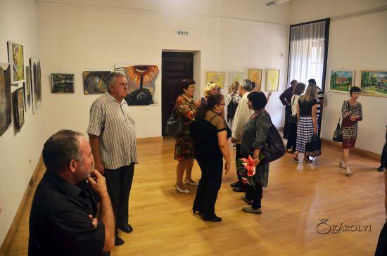 A fost deschisă expoziția Asociației Provinciart la Castelul din Carei