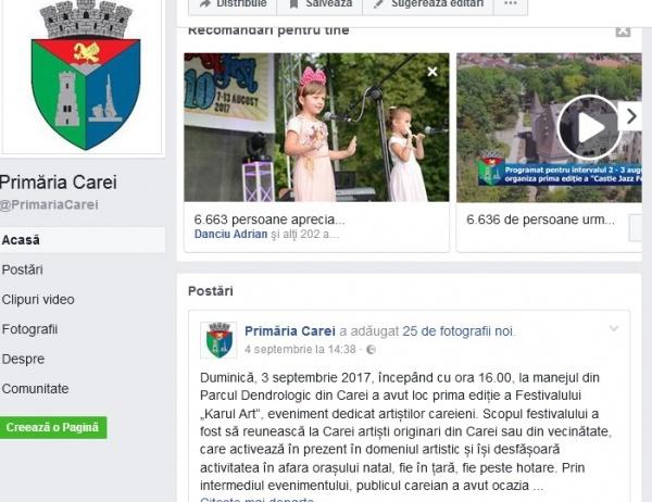 Invitaţia la comemorarea lui Avram Iancu lipseşte de pe paginile Primăriei Carei