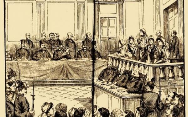 Povestea celor cinci românce judecate la Sibiu, în 1895, pentru că au purtat cocarde tricolore