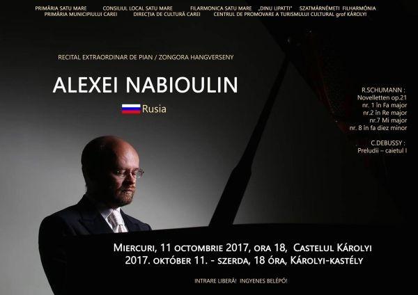 Recital de pian Alexei Nabioulin