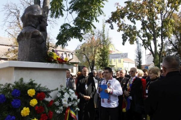 Impresii de la dezvelirea bustului lui Mihai Eminescu la Carei