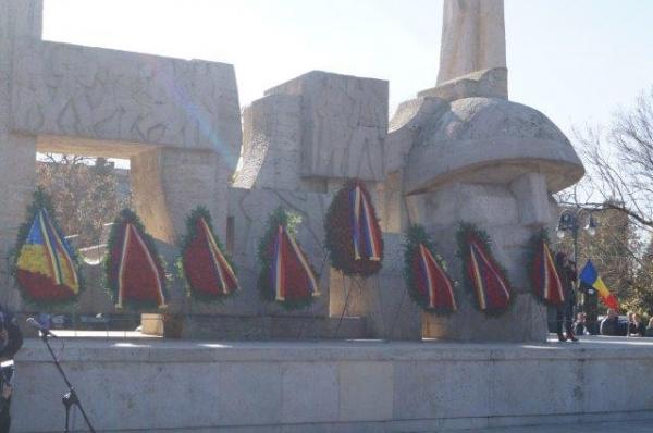 Alocuţiunile generalului Constantin Mancaş şi ÎPS Mitropolitului  Andrei de Ziua Armatei de la Carei