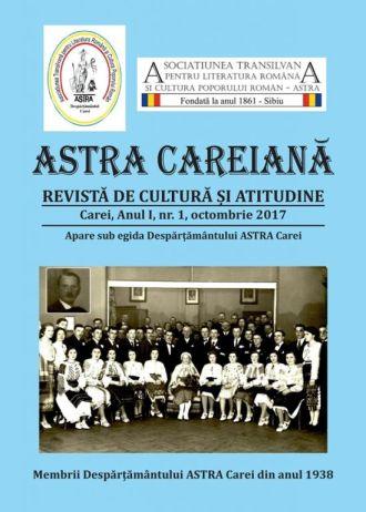 Revista  ASTRA Careiană la primul număr
