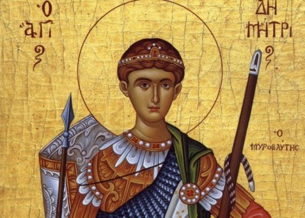 Sfântul Dumitru, zi de mare sărbătoare