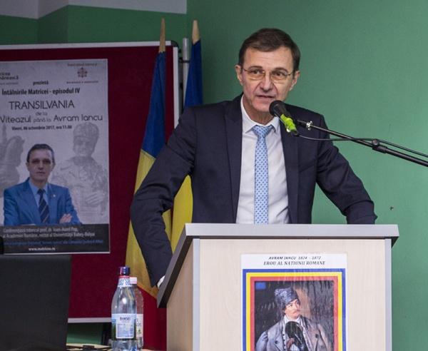 """Academicianul Ioan-Aurel Pop: """"Avram Iancu a fost un om cu o minte cât pentru trei oameni…,,"""