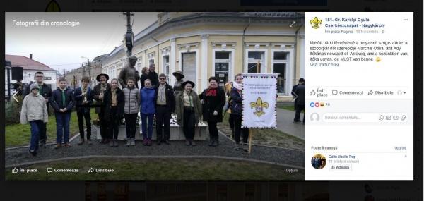 300 de tineri din Uniunea Cercetașilor Maghiari din România se află la Carei