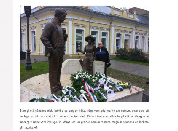 ,,Când vom înțelege, în sfârșit, că un proiect comun româno-maghiar necesită seriozitate și maturitate? ,,