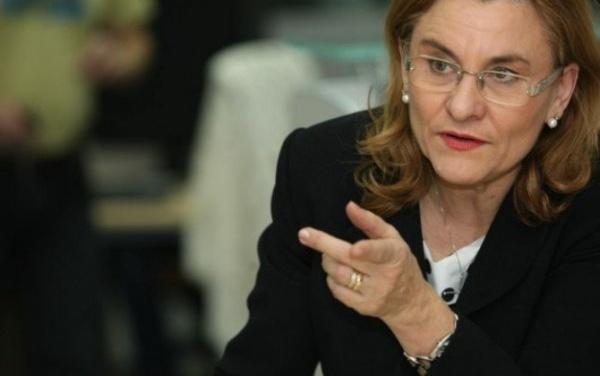 Maria Grapini, europarlamentarul  care ia atitudine faţă de lipsa însemnelor naţionale de la Carei