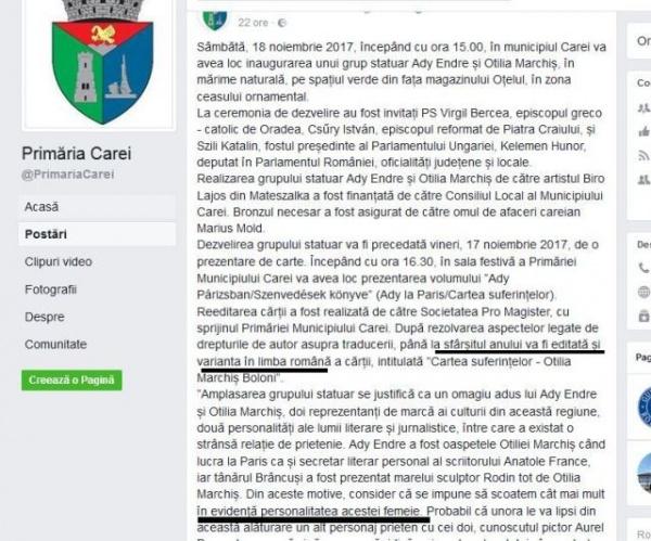 Kelemen Hunor revine la Carei. Lansare de carte exclusiv în limba maghiară