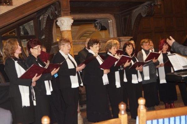 Concert coral extraordinar de Crăciun la Castelul din Carei