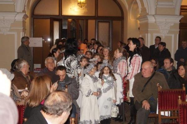 Evenimente organizate  la Castelul Károlyi, Teatrul Municipal și în aer liber  cu ocazia Sărbătorii Crăciunului