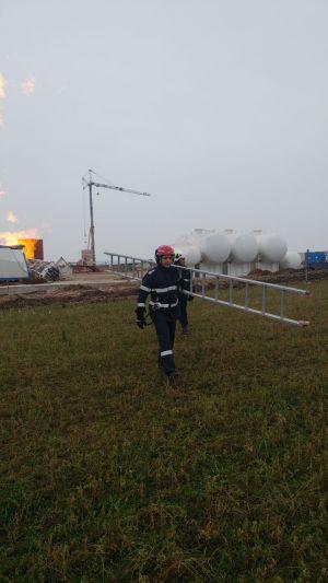 Incendiu la sonda de gaz – ziua a IV-a