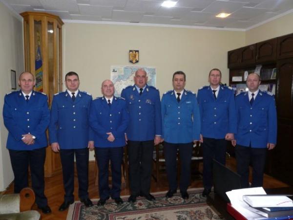 Avansări în grad la Inspectoratul de Jandarmi Satu Mare