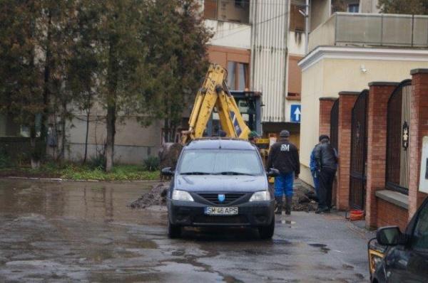 Fără apă la robinete în cartierul Republicii din Carei