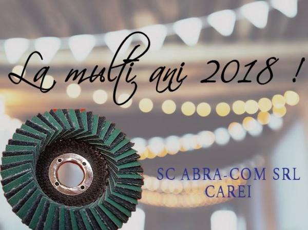Mesajul de An Nou al societății ABRA-COM Carei