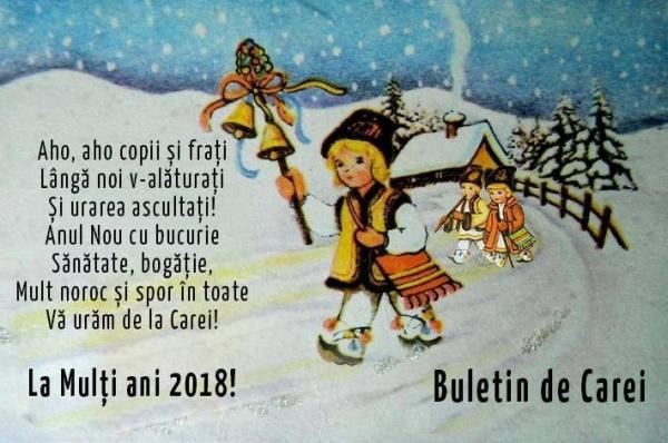 Buletin de Carei vă urează un An Nou Fericit!