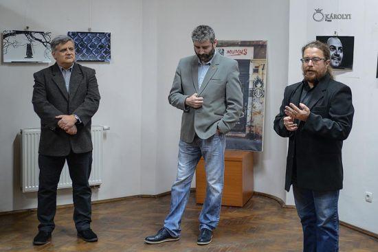 Expoziţia artistului fotograf dr. Hágó Attila, şef secţie Muzeu Carei