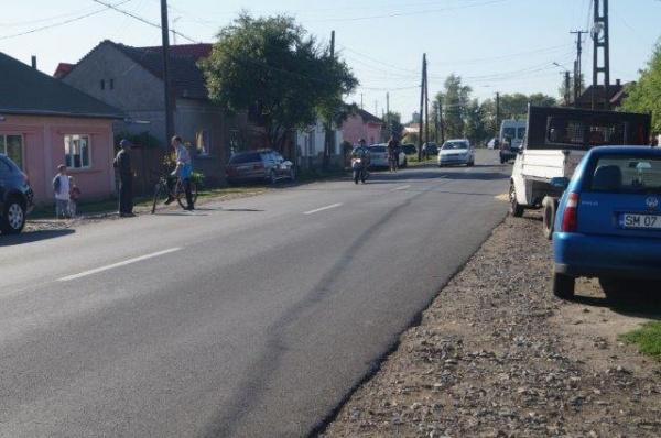 Strada Uzinei recent asfaltată nu are canalizare! Primăria Carei face studiu de fezabilitate pentru reţea canalizare după plata lucrărilor de asfaltare