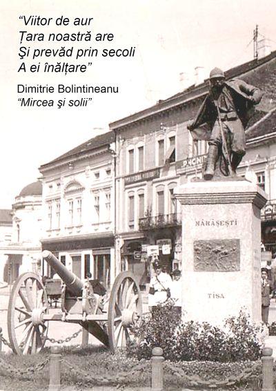 Să ajutăm pentru repunerea la locul de drept a Monumentului Eroului Necunoscut