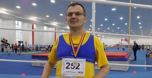 Nicuşor Jurj, vicecampionul naţional din Carei
