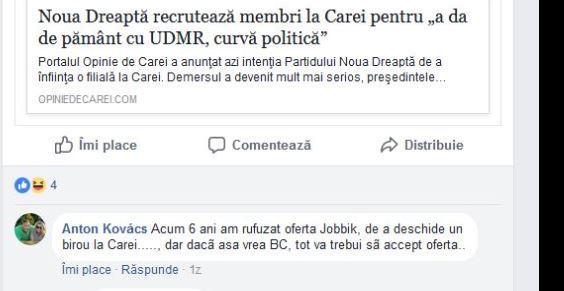 Vezi cine va accepta oferta Jobikk de a avea birou la Carei