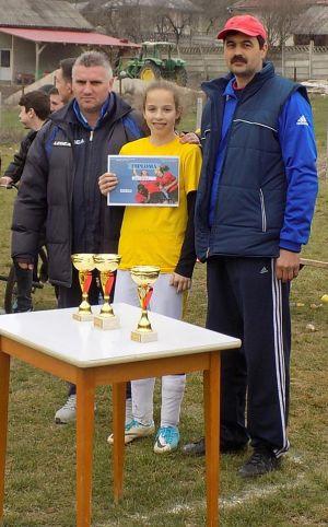 Careianca Daiana Oneț desemnată cea mai bună jucătoare la CUPA CODRULUI