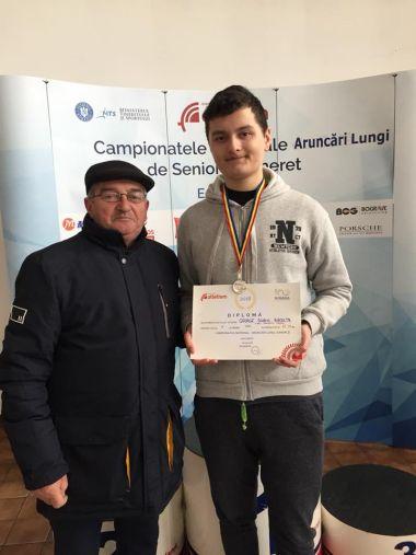 George Racolţa din Carei  adică încă un vicecampion naţional