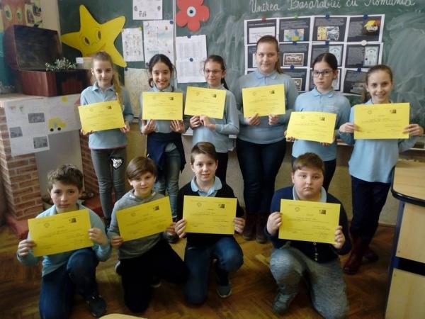 Micii matematicieni din Carei au potenţial. 2 punctaje maxime la etapa zonală a Olimpiadei şcolare