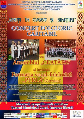 Concert folcloric caritabil