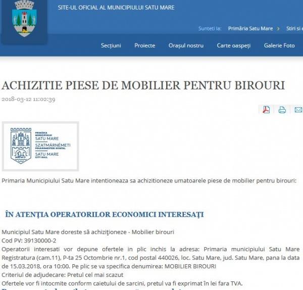 Buletin de Carei cere transparenţă în administraţia locală şi respect pentru careieni