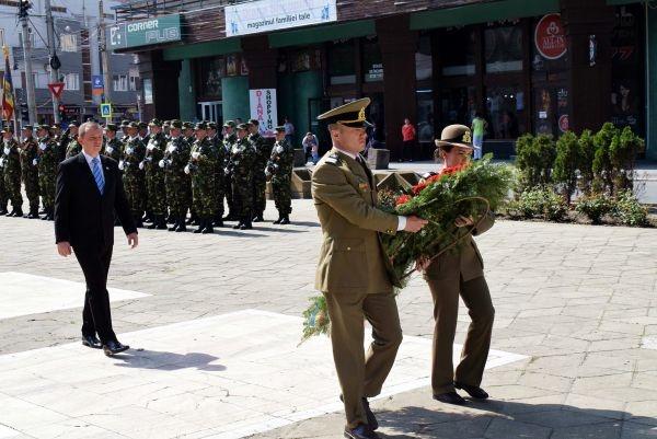 Ziua Forţelor Terestre a fost marcată la Satu Mare. La Carei…nu
