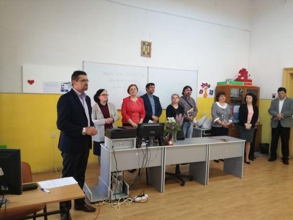 Concurs județean la Liceul Tehnologic ,,Iuliu Maniu,, Carei